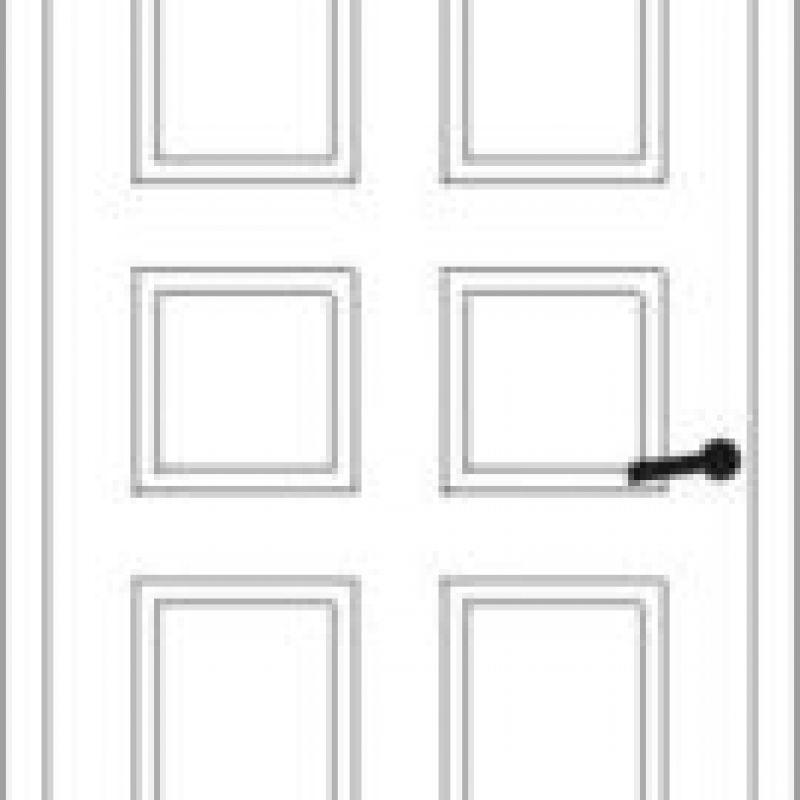 Durų raštas 10
