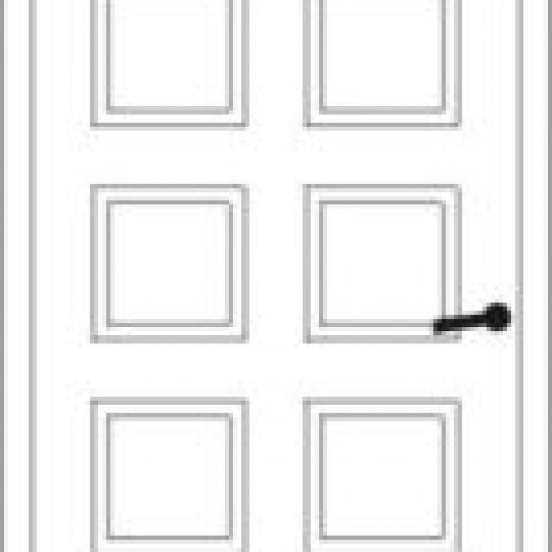 Durų raštas 12
