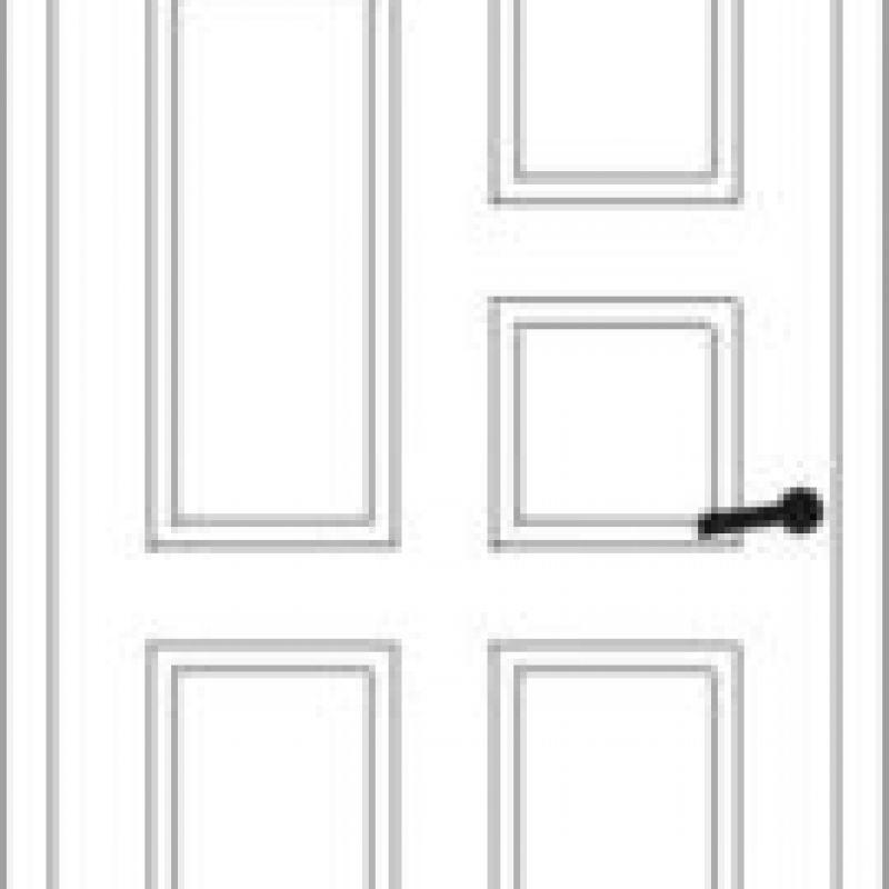 Durų raštas 13