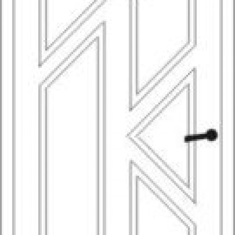 Durų raštas 16