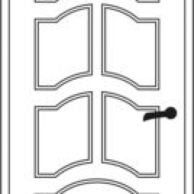 Durų raštas 20