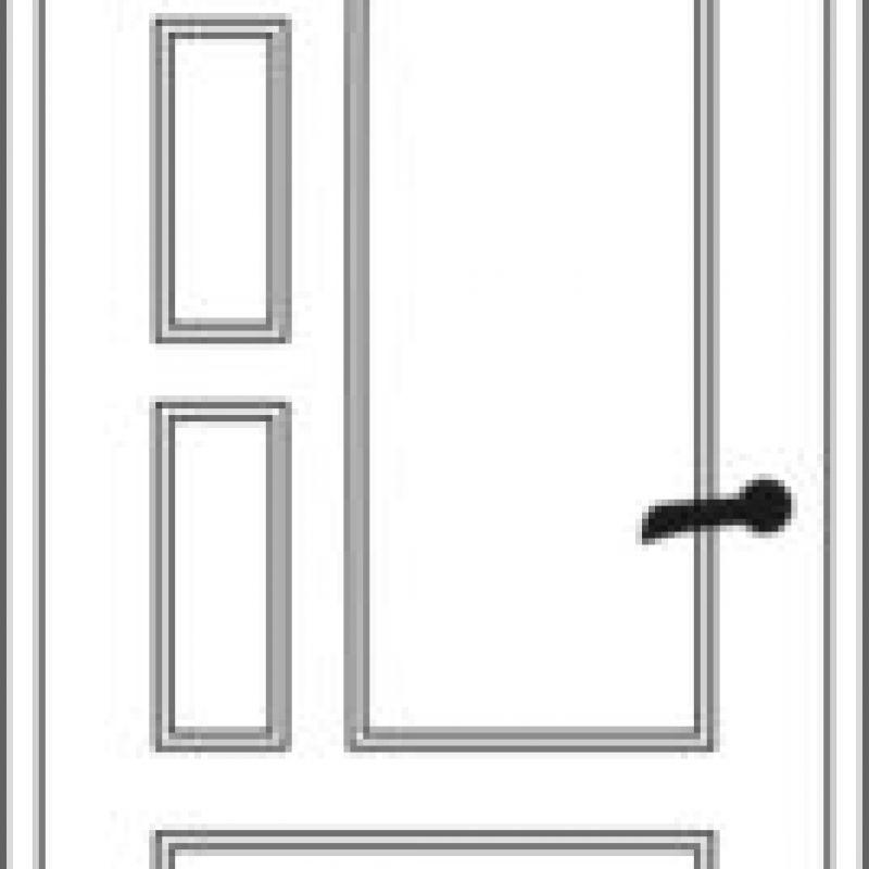 Durų raštas 24