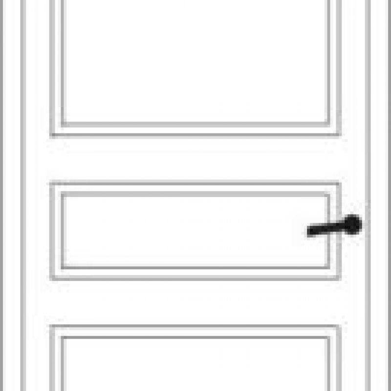 Durų raštas 8