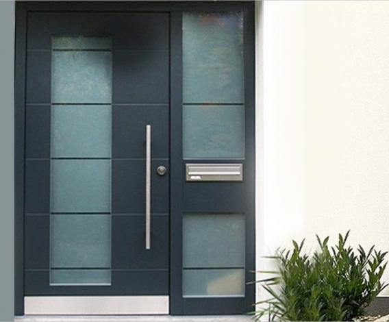 Aliuminio durys